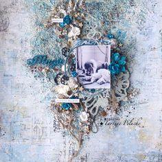 Magic by Tartine Peluche Blue Fern Studio june project - Scrapbook.com