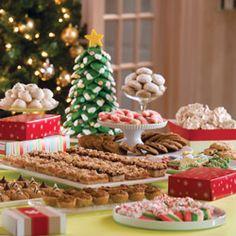 cookie exchange table decoration