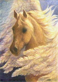 The Golden Pegasus - by Lynn Bonnette