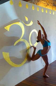 Dancer on the wall - Desi Springer. Wall Yoga, Psoas Release, Doterra, Desi, Dancer, African, Bows, Disney Characters, Creative