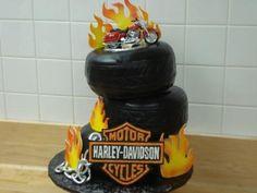 Harley Davidson Birthday Cakes