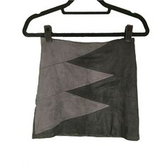 Accepting Offers Suede zig zag pattern skirt Beautiful suede (and not heavy!) skirt with a zig zag black and grey pattern across the front. I  OFFERS! Lovely Day Skirts