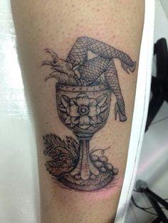 #tattoo#ink#Cálice#vinho#uva