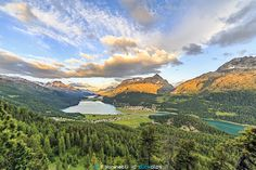 Sunrise in Engadina by Francesco Vaninetti on 500px