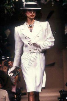 Yves Saint Laurent   Spring 1983