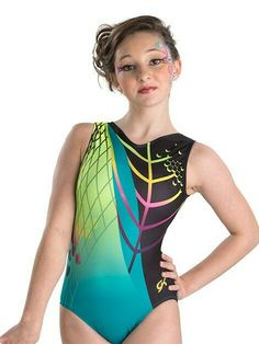 ee103c6147 Eco Envy Cirque du Soleil Leotard from GK Gymnastics