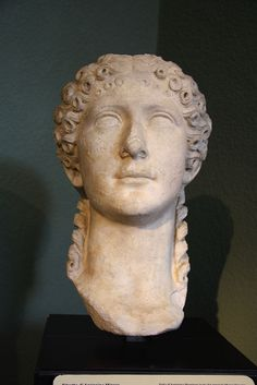 Agrippina Minor, wife of Emperor Claudius and mother of Nero. Milan Italy, Ancient Rome, Roman Empire, Emperor, Art And Architecture, Sculptures, Statue, Milano, File
