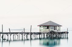 Old dock by countgeoff on @creativemarket