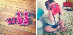 mom and daughter saltwater sandals for sloane & i