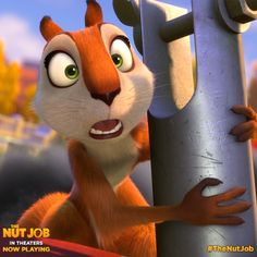 'Squirrel Yourself' with THE NUT JOB to win branded goodies! - Red Ted Art - Make crafting with kids easy & fun Movie Z, Movie Club, Raising Arizona, The Nut Job, Cinema Online, Crayon Set, Movie Guide, Go To Movies, Movies 2014