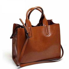 16.71$  Watch here - Fashion Spanish Brand Trunk Leather Bags Handbags HOT High Quality Women Famous Brands Shoulder Bag Ladies Large Top-Handle Bags  #buyonline