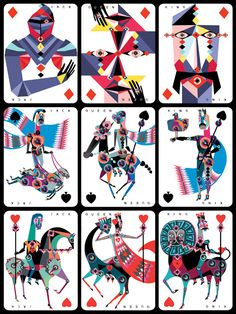 An Ace in the Pack - Lesley Barnes Illustration