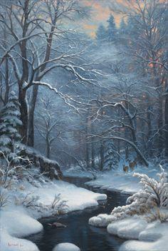 Fantasy Landscape, Winter Landscape, Landscape Art, Winter Pictures, Nature Pictures, Pictures To Paint, Great Pictures, Winter Szenen, Winter Christmas