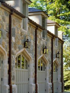 Carriage house gothic doors