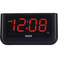 """RCA Digital Alarm Clock with Large 1.4"""" Display         * Click image to review more details. (This is an affiliate link) #Electronics"""