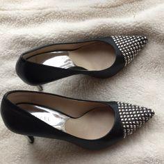 672f9beeca4 Michael Kors Shoes | Michael Kors Pumps 8m Great Condition! | Color:  Black/Silver | Size: 8