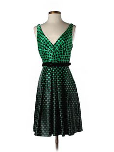 Vintage-inspired cocktail dress by Eva Franco.
