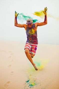 Nicholas Maggio :: for Pac Sun Summer 2012 Color Paint Photography, Editorial Photography, Smoke Photography, Dance It Out, Just Dance, Holi Colors, Colours, Holi Photo, Festival Paint