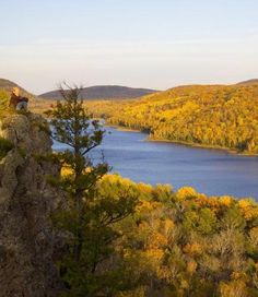 The Porkies (150 miles west of Marquette) embody Michigan's remote Upper Peninsula, with 59,000 wild acres, 90 miles of trails and, if you get away from the campsites, not too many visitors.