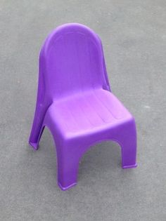 Purple Child Chairs Suitable for ages Easily Stackable for transporting Kids Party Tables, Adjustable Height Table, Party Hire, Colorful Chairs, Little People, Table And Chairs, Colours, Purple, Children
