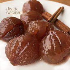 Aquí tienes una receta fácil de marrón glacé y un par de variantes que hay en su elaboración final. Con la versión al horno las castañas quedan más secas.