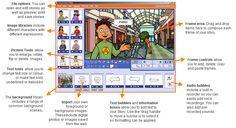 Languages Online - Cartoon Story Maker