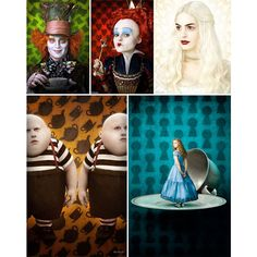 sub-studio design blog: Tim Burton's Alice in Wonderland ❤ liked on Polyvore featuring alice in wonderland and backgrounds