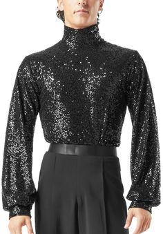 Taka Mens Latin Dance Shirt MS244 | Dancesport Fashion @ DanceShopper.com