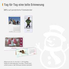 Fotokalender 2015: Tag für Tag eine besondere Erinnerung - jetzt 25% Rabatt auf Ihren individuellen AustroBild-Kalender sichern.