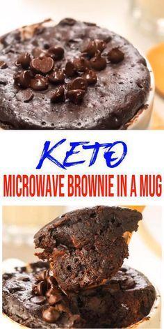 Best Keto Mug Cakes Low Carb Microwave Chocolate Brownie Idea