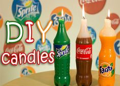 DIY Project: How To Make Soda Candles!