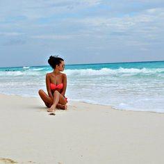 Just chill in' in a bikini