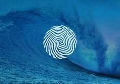 European Centre for Environment & Human Health wave & fingerprint inspired - connotat. Gfx Design, Logo Design, Wave Design, Identity Design, Visual Identity, Creative Logo, Creative Design, Brainstorm, Typographie Fonts
