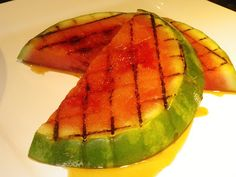 Grilled Watermelon With Grand Marnier Glaze