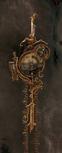 Amazing Steampunk Clock by rosa