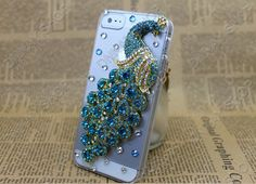 iphone 5 or   4s case Fashion   Pearl  green Phoenix  by dnnayding, $21.99