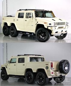Hummer H3, Hummer Truck, Pickup Trucks, 6x6 Truck, Cool Trucks, Big Trucks, Cool Cars, Us Cars, Sport Cars