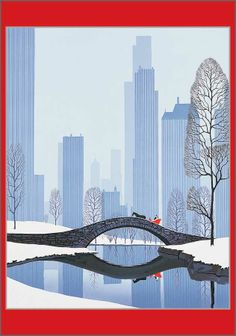 Central Park Christmas Cards