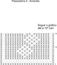 passadeira de croche - Pesquisa Google