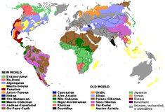 Non Indo-Euro language map
