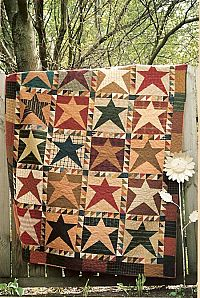 Bradford Star Quilted Throw | Quilted throws, Star quilts and ... : country star quilts - Adamdwight.com