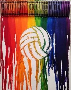 I want to make this!!! .... Without the volleyball (I stink at that sport)