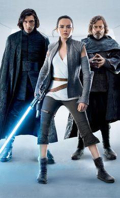 Kylo Ren-Rey-Master Luke