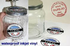Inkjet waterproof adhesive vinyl