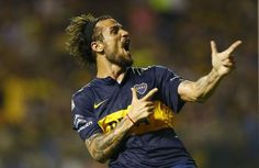 Osvaldo bomber løs for Boca Juniors!