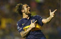 Osvaldo bomber løs for Boca Juniors!