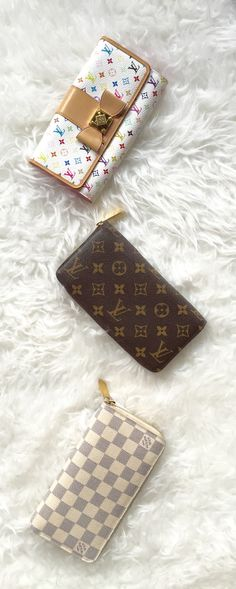 Louis Vuitton wallets available at www.lovethatbag.ca