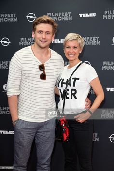 Steve Windolf and his girlfriend Kerstin Landsmann attend the premiere of the first episode of the crime-series 'Parfum' as part of the Munich Film Festival 2018 at Mathaeser Filmpalast on June Get premium, high resolution news photos at Getty Images Messy Pixie, Silver Hair, Film Festival, Haircuts, Documentaries, Girlfriends, Short Hair Styles, Hair Makeup, Stage