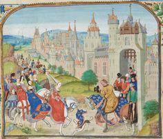 « Chroniques sire JEHAN FROISSART » Date d'édition :  1401-1500  Français 2643  Folio 1r