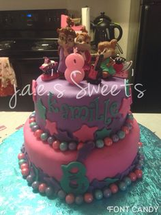 Chipettes Cake